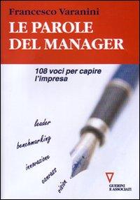 Le parole del manager
