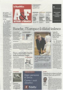Intervista Tonato Repubblica prima pagina