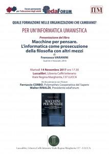 Locandina Lucca 14 nov 17